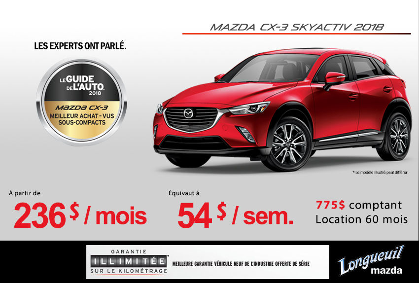 2018 Mazda Cx 3 Promotion Auto Longueuil Promotion In Longueuil