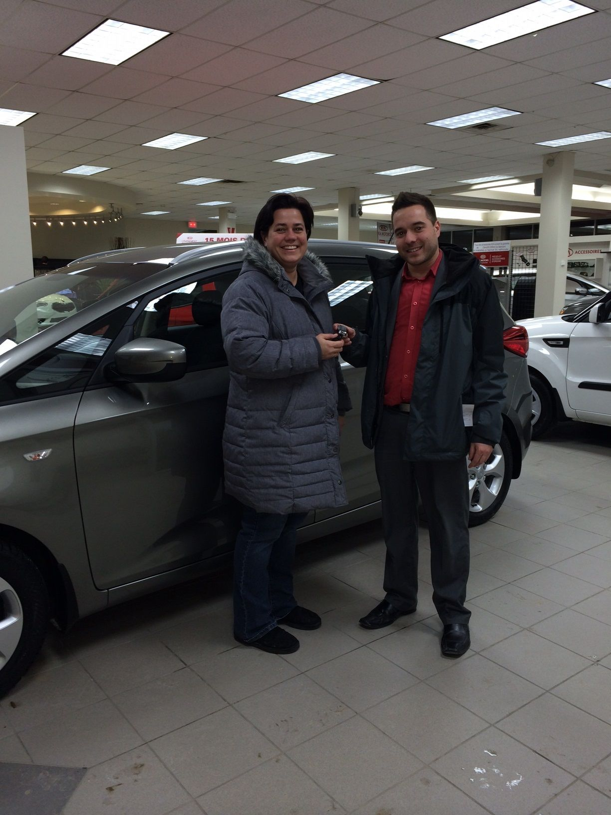 Excellent experience at Kia Sherbrooke!