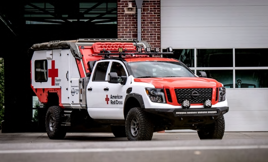 Nissan Donates Ultimate Service Titan to Red Cross