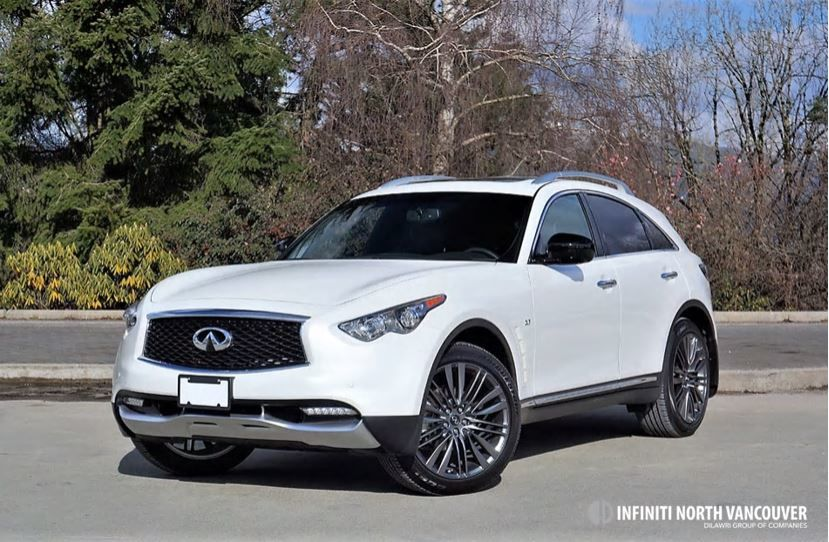 2017 INFINITI QX70 Limited Road Test Review