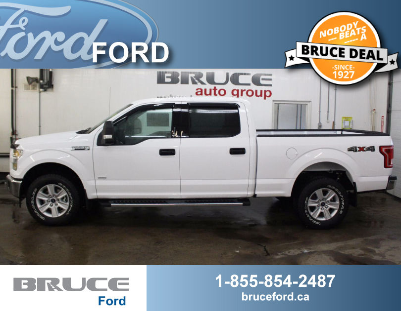 New 2017 ford f 150 xlt 3 5l 6 cyl ecoboost automatic 4x4 supercrew in middleton 0