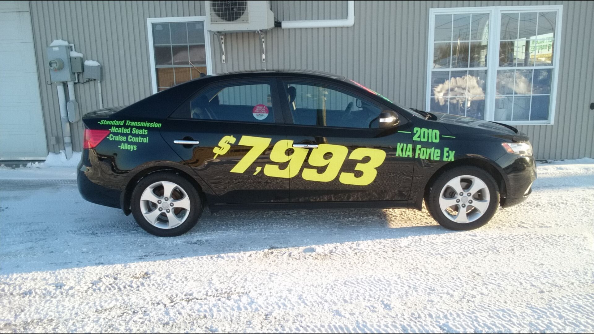 used 2010 kia forte ex in fredericton used inventory. Black Bedroom Furniture Sets. Home Design Ideas