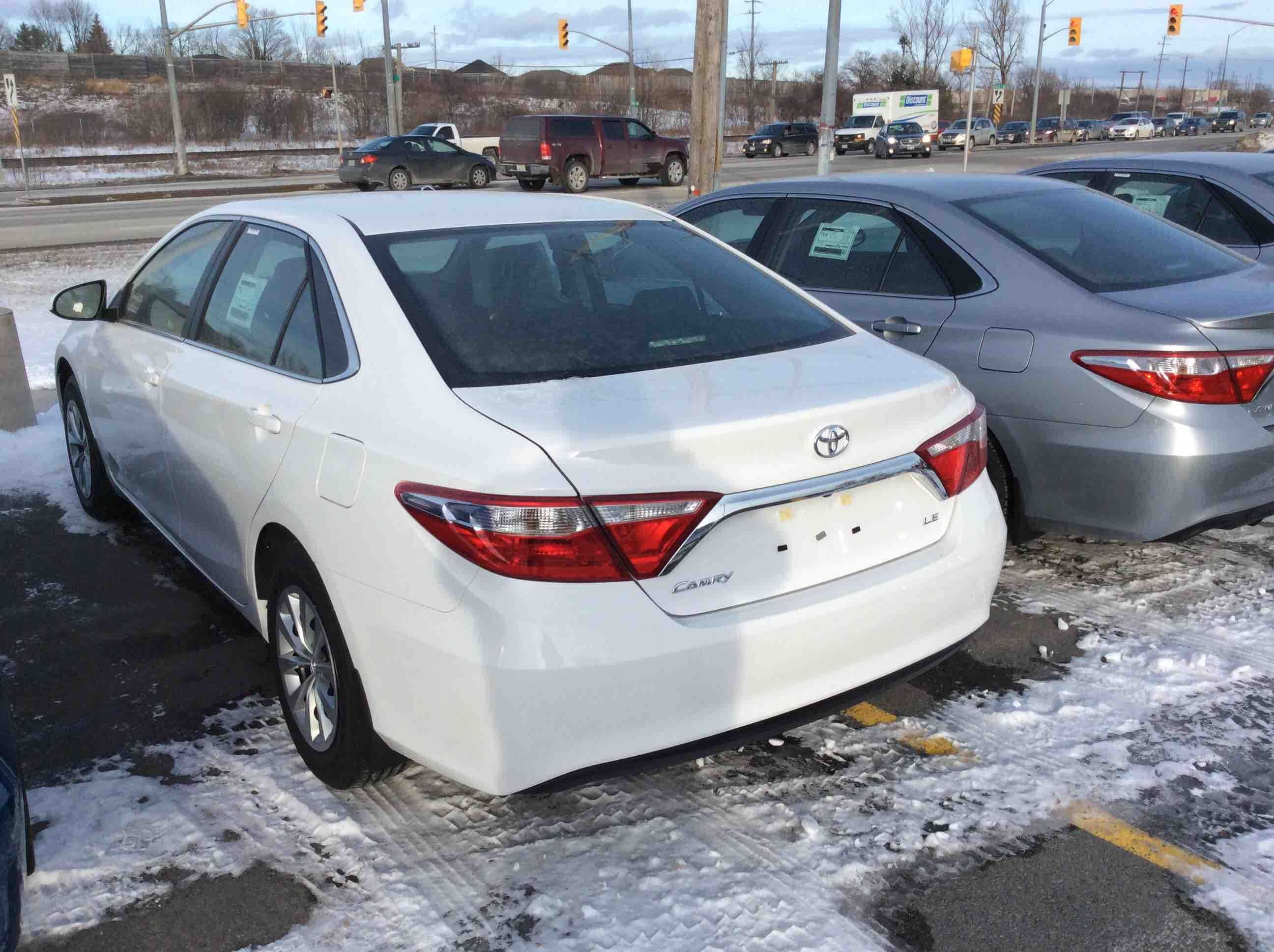 new 2016 toyota camry 4 door sedan le 6a for sale in kingston kingston toyota in kingston. Black Bedroom Furniture Sets. Home Design Ideas