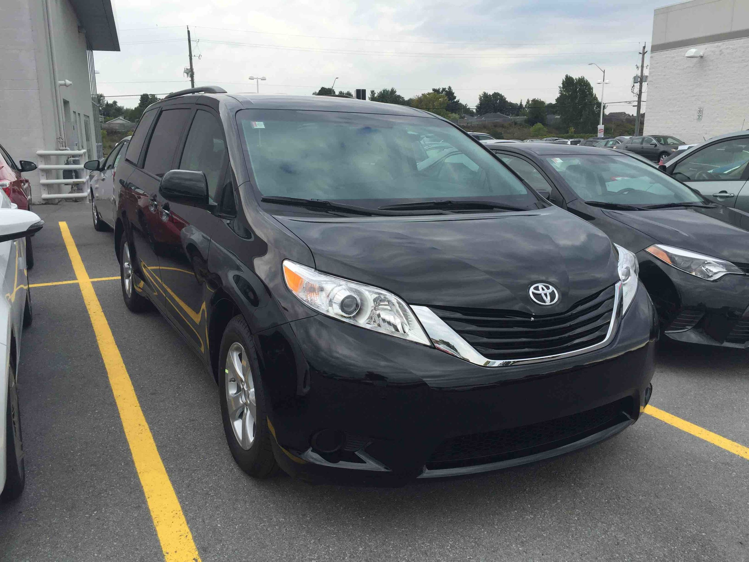 New 2015 Toyota Sienna Le 8 Pass V6 6a For Sale In Kingston Kingston Toyota In Kingston