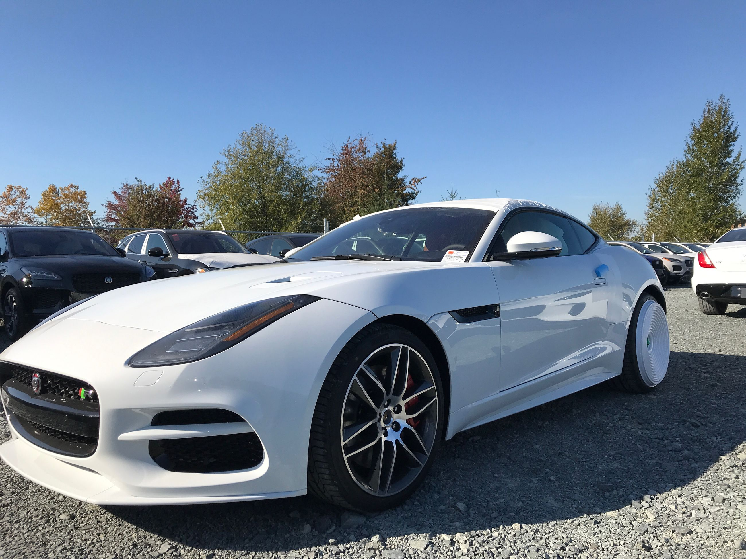 New 2019 Jaguar F Type Coupe 550hp R Awd 2 124570 0