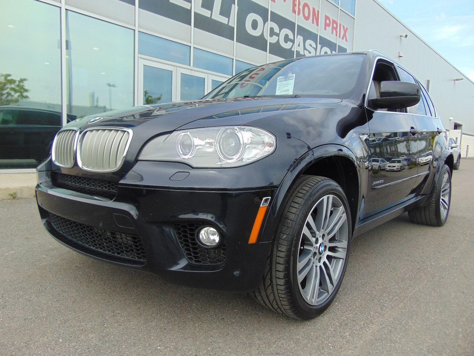 used 2013 bmw x5 deal pending 50i m sport navi in montreal laval and south shore p6928. Black Bedroom Furniture Sets. Home Design Ideas