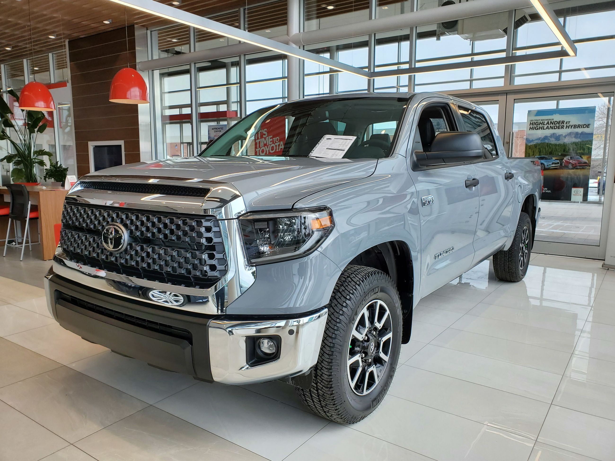 New 2020 Toyota Tundra Trd Off Road Premium Crewmax Sb For Sale In Lachine Spinelli Toyota Lachine In Lachine Quebec