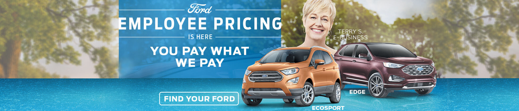 Ford employee pricing is here
