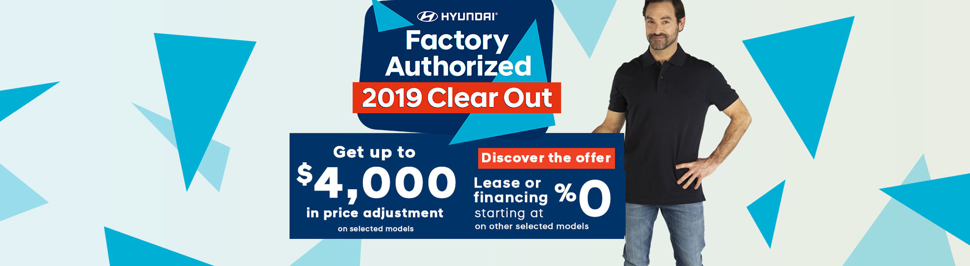 Hyundai Factory Authorized 2019 clear out