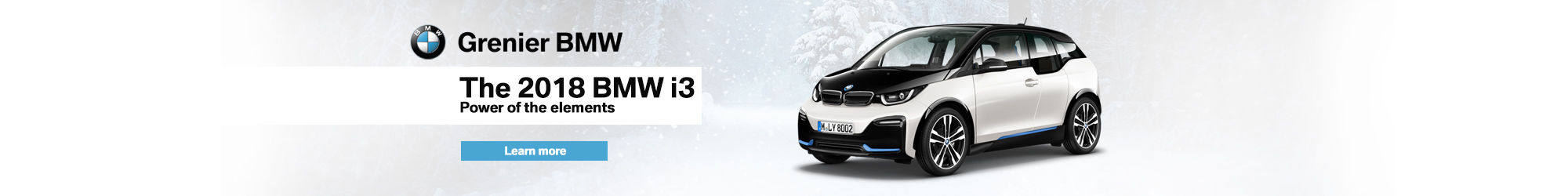 BMW i3 in inventory (January)