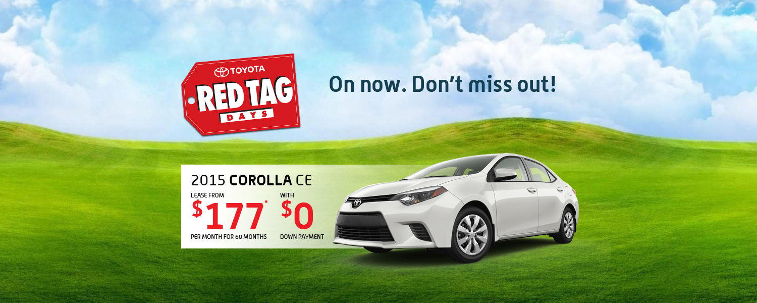 2015 Toyota Corolla - May Promotion