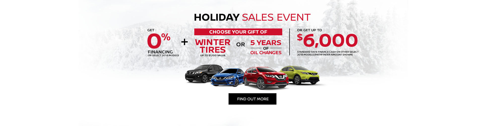 Nissan Holiday Sales Event