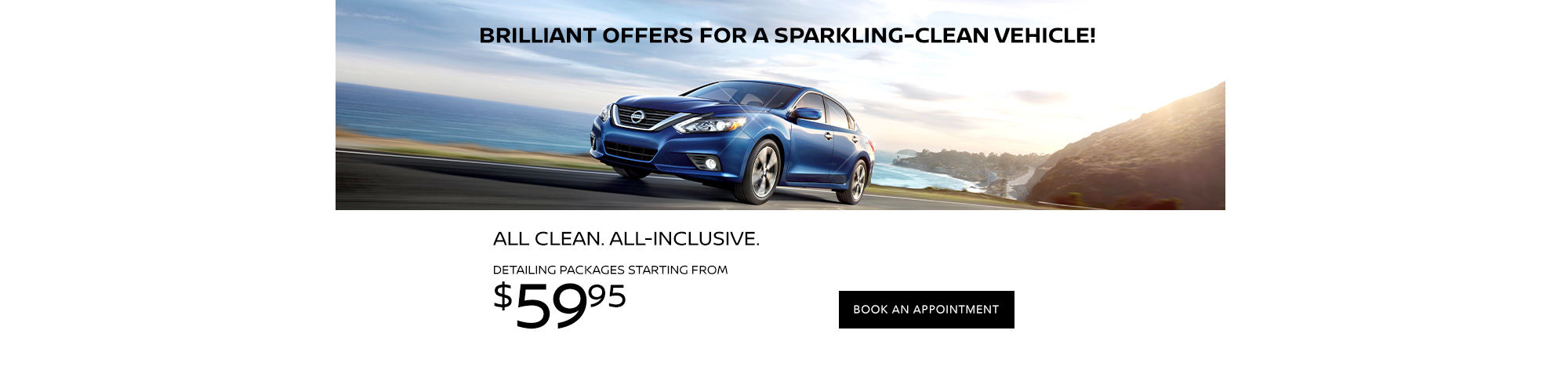 Brilliant Offers on our Spring Detailing Packages