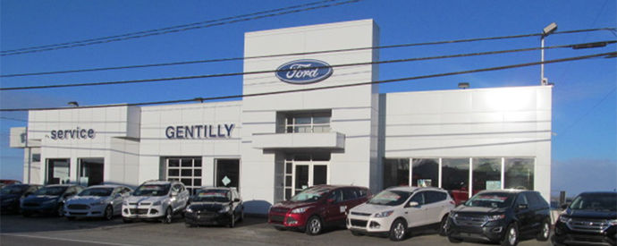 Ford dealership in Bécancour (Secteur Gentilly)