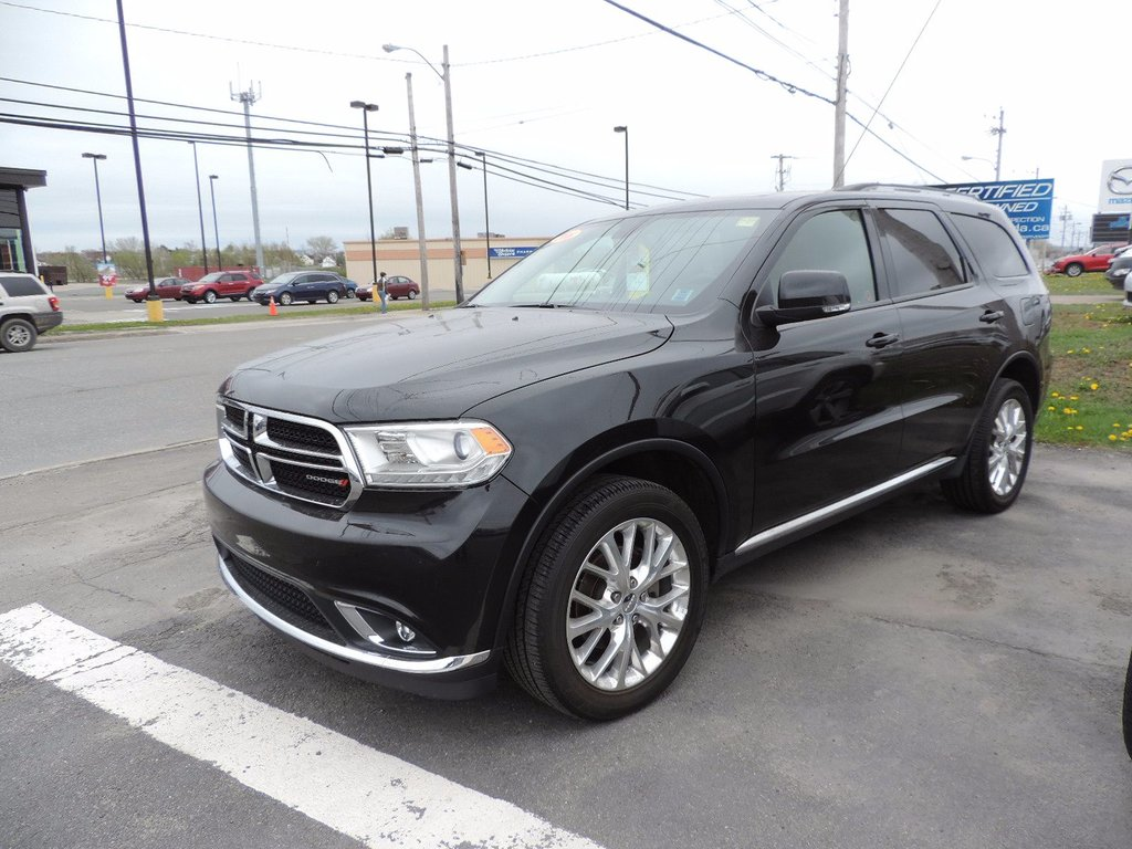 used 2016 dodge durango limited in used inventory macdonald auto group in nova scotia. Black Bedroom Furniture Sets. Home Design Ideas