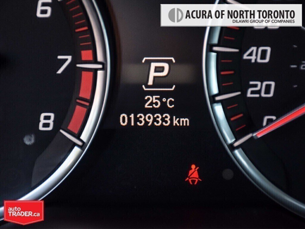 2019 Acura TLX 3.5L SH-AWD w/Tech Pkg A-Spec Red in Thornhill, Ontario - 11 - w1024h768px