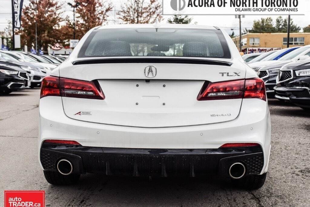 2019 Acura TLX 3.5L SH-AWD w/Tech Pkg A-Spec Red in Thornhill, Ontario - 2 - w1024h768px