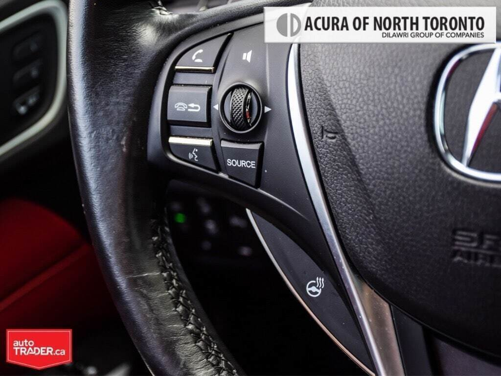 2019 Acura TLX 3.5L SH-AWD w/Tech Pkg A-Spec Red in Thornhill, Ontario - 15 - w1024h768px