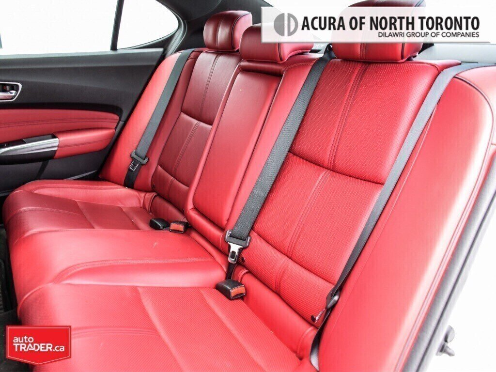 2019 Acura TLX 3.5L SH-AWD w/Tech Pkg A-Spec Red in Thornhill, Ontario - 10 - w1024h768px