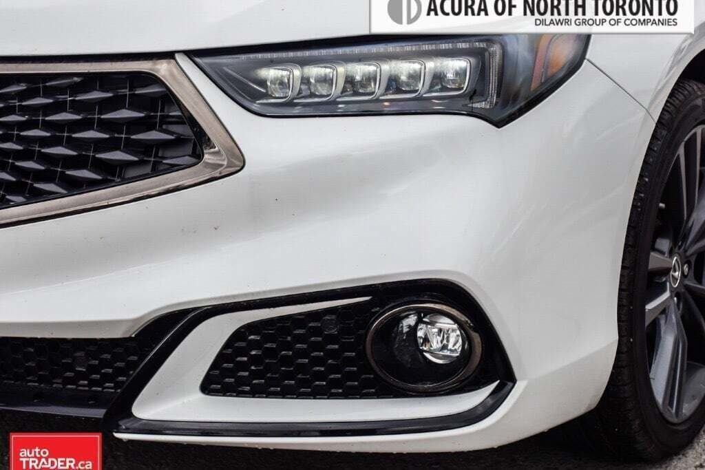 2019 Acura TLX 3.5L SH-AWD w/Tech Pkg A-Spec Red in Thornhill, Ontario - 4 - w1024h768px