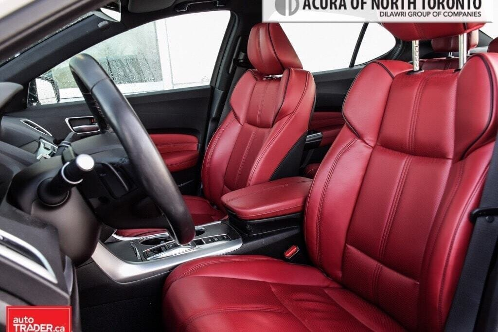 2019 Acura TLX 3.5L SH-AWD w/Tech Pkg A-Spec Red in Thornhill, Ontario - 8 - w1024h768px