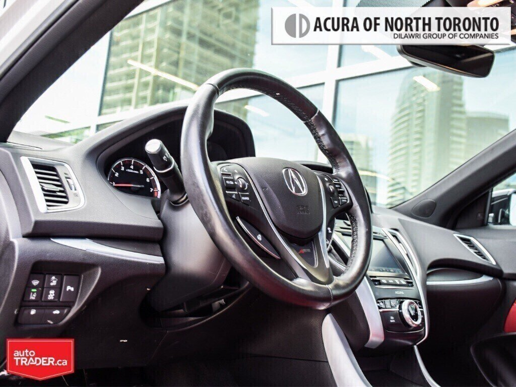 2019 Acura TLX 3.5L SH-AWD w/Tech Pkg A-Spec Red in Thornhill, Ontario - 7 - w1024h768px