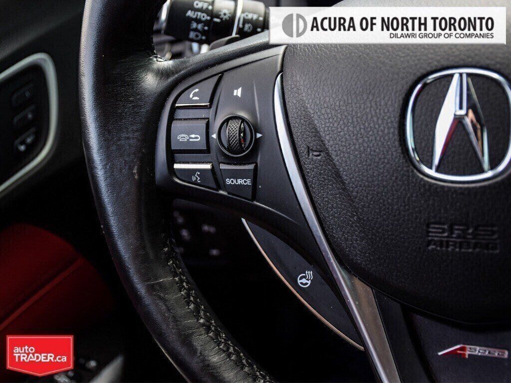 2019 Acura TLX 3.5L SH-AWD w/Tech Pkg A-Spec Red in Thornhill, Ontario - 20 - w1024h768px