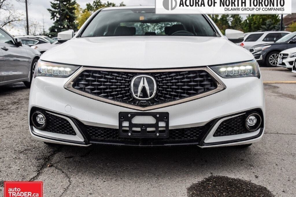 2019 Acura TLX 3.5L SH-AWD w/Tech Pkg A-Spec Red in Thornhill, Ontario - 3 - w1024h768px