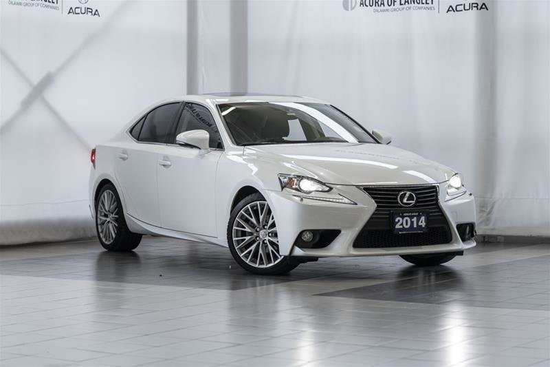 2014 Lexus IS250 AWD 6A in Langley, British Columbia - 1 - w1024h768px