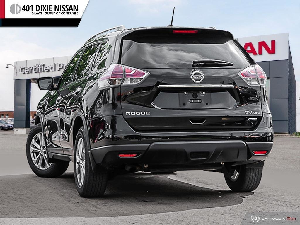 2014 Nissan Rogue SV AWD CVT in Mississauga, Ontario - 4 - w1024h768px
