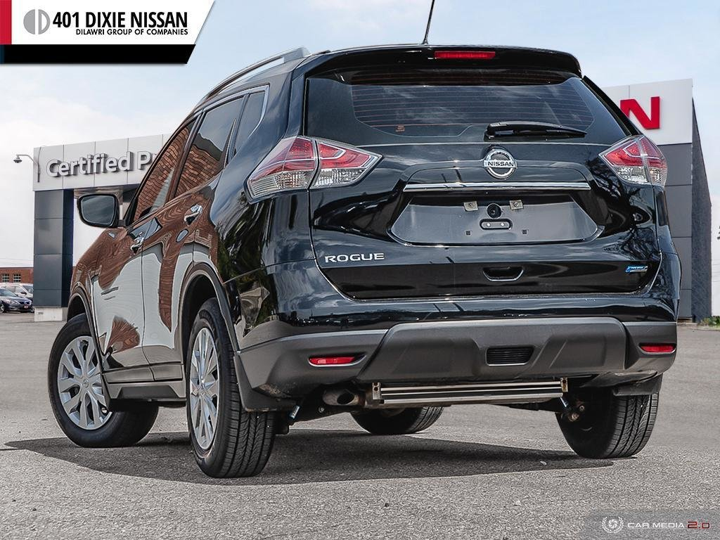 2015 Nissan Rogue S FWD CVT in Mississauga, Ontario - 4 - w1024h768px