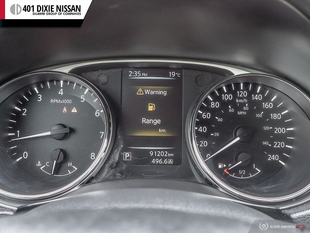 2015 Nissan Rogue S FWD CVT in Mississauga, Ontario - 15 - w1024h768px