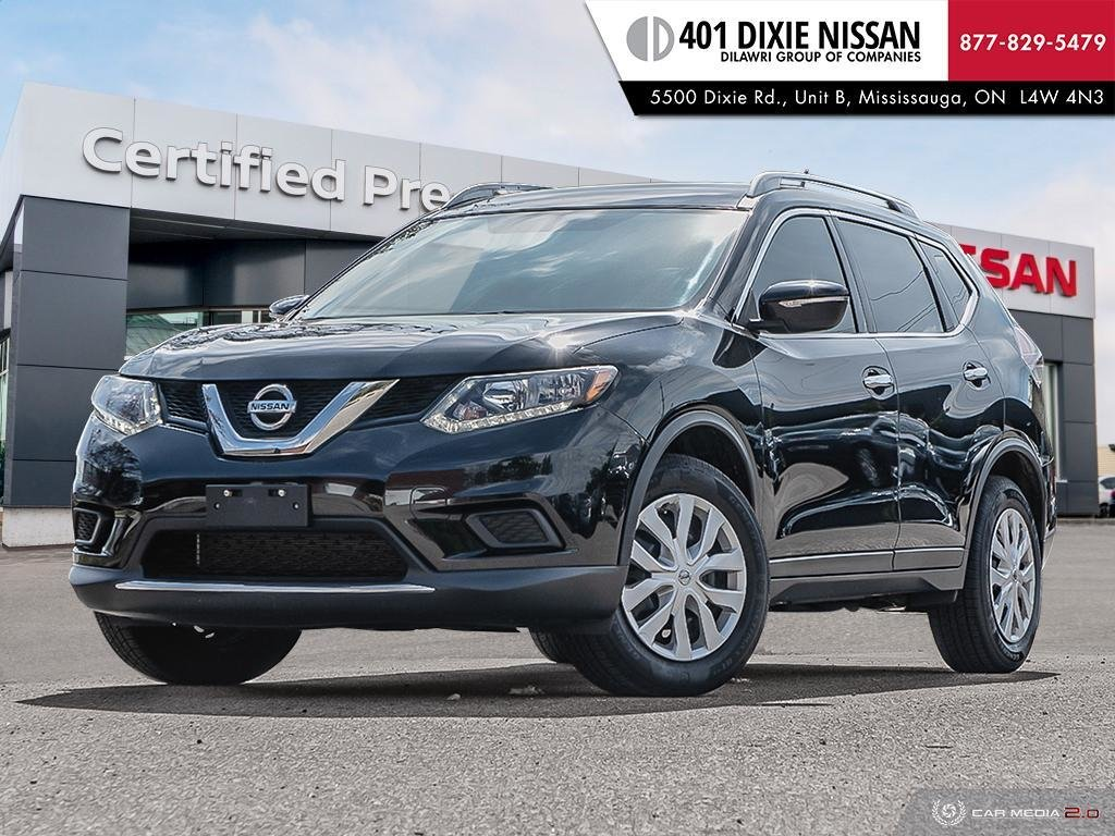 2015 Nissan Rogue S FWD CVT in Mississauga, Ontario - 1 - w1024h768px