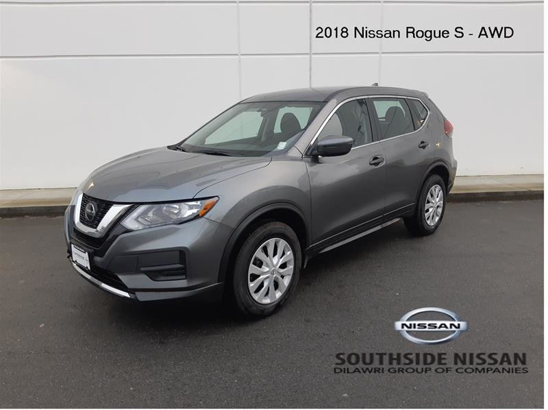 2018 Nissan Rogue S AWD CVT in Vancouver, British Columbia - 1 - w1024h768px