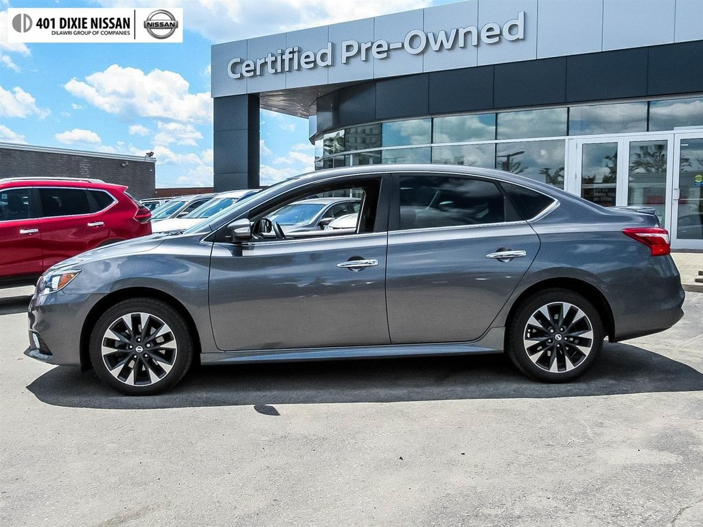 2017 Nissan Sentra 1.6 SR Turbo 6sp in Mississauga, Ontario - 8 - w1024h768px