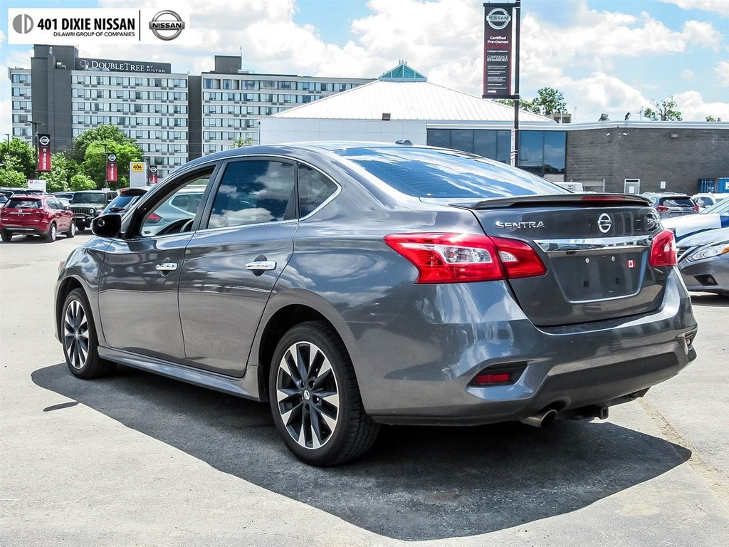 2017 Nissan Sentra 1.6 SR Turbo 6sp in Mississauga, Ontario - 31 - w1024h768px