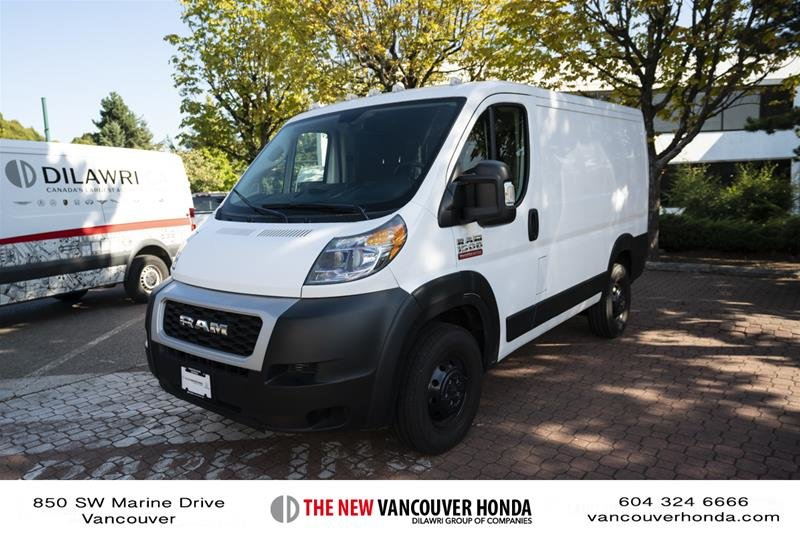2019 Ram RAM Promaster Cargo Van 1500 Low Roof (118 In WB) in Vancouver, British Columbia - 1 - w1024h768px