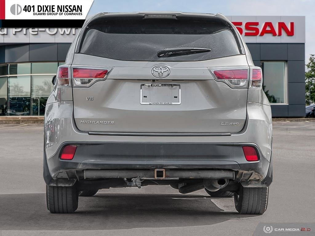 2014 Toyota Highlander LE AWD in Mississauga, Ontario - 5 - w1024h768px