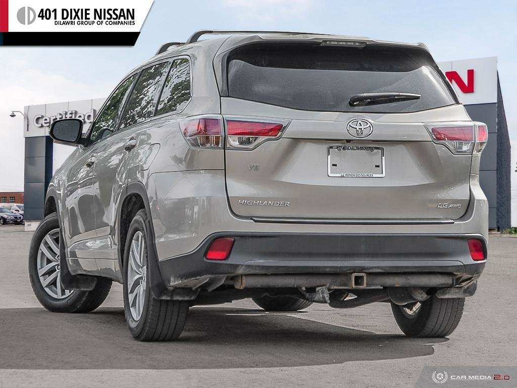 2014 Toyota Highlander LE AWD in Mississauga, Ontario - 4 - w1024h768px
