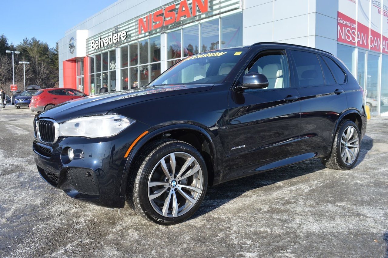 BMW X5 XDrive35i M PACKAGE CUIR GPS TOIT SEULEMENT 2015