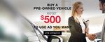 Nissan Certified Pre-Owned -500