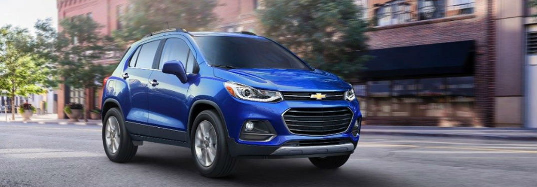 What Colours Does the 2017 Trax Come In?