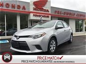 2015 Toyota Corolla LOTS OF REMAINING FACTORY WARRANTY!!!! LOW KM's!!