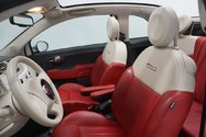 Fiat 500 C CONVERTIBLE LOUNGE AUTO CUIR 2015