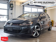 2018 Volkswagen GTI 5-Dr 2.0T Autobahn 6sp DSG at w/Tip Traded. LOW KM