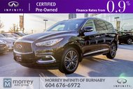 2016 Infiniti QX60 Technology Package No Accident Claim One BC Owner