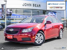 2014 Chevrolet Cruze 1LT ONE OWNER VEHICLE ONLY 13684 KMS!!