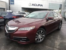 2015 Acura TLX TECH   OFFLEASE   NAVI   2.9%   206HP   1OWNER