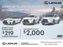 Experience the Lexus Monthly Sales Event!