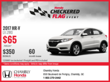 Lease the New 2017 Honda HR-V Today!